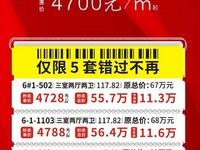 万达商圈推出10套特价房单价4688 平米起,找我享内部折扣