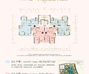 10#楼一单元标准层平面图