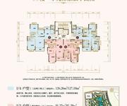9#楼一单元标准层平面图